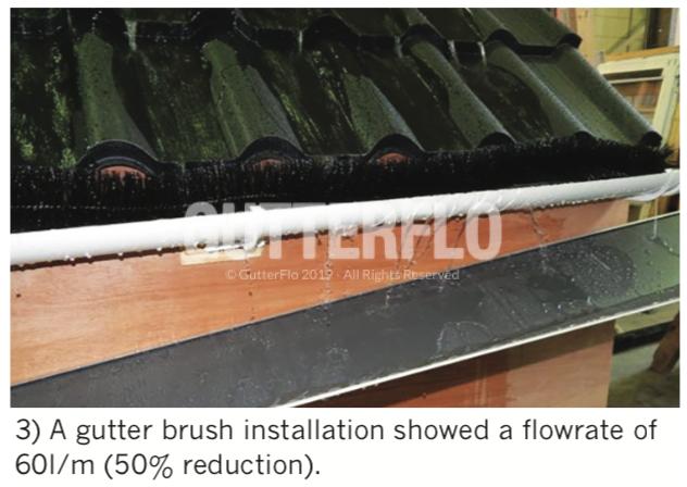 Gutter Brush Installation
